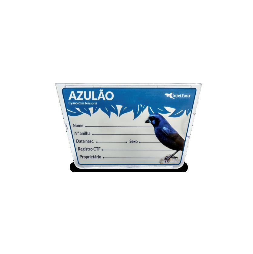 Placa De Identificação Azulão