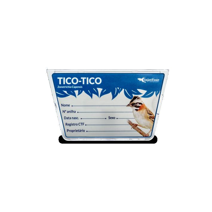 Placa Identificação Tico Tico
