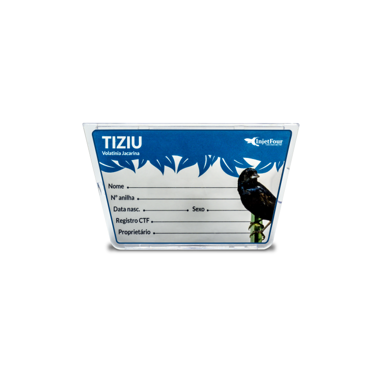 Placa Identificação Tiziu